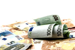Money, Euro currency Royalty Free Stock Photography