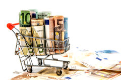 Money, Euro currency Royalty Free Stock Photo