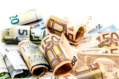 Money, Euro currency Stock Image