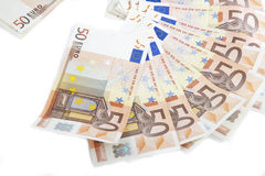 Money from Europe Royalty Free Stock Photos
