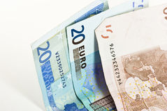 Money Euros Royalty Free Stock Photo