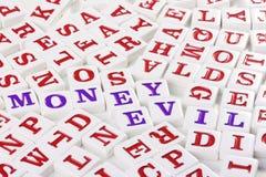 Money - evil Royalty Free Stock Photos