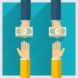 Money Exchange Stock Photo