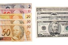 Money exchange Royalty Free Stock Photos