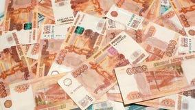 Money exchange stock footage
