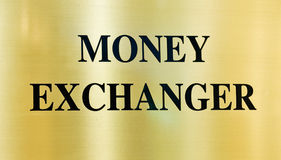 Money exchanger Stock Photos
