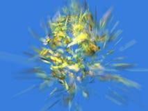 Money exploding. Money crack, illustration vector illustration