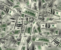 Money explosion Stock Images