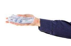 Money fall down Stock Photography