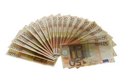 Money fan Royalty Free Stock Photos