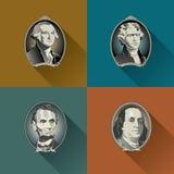 Money Figurehead Background Royalty Free Stock Image
