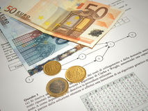 Money and finance Stock Photography