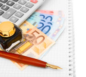 Money and finance. Royalty Free Stock Photography