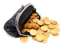 Money and finance. Finance and money, credits and loans Stock Image