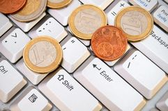 Money and finance. Finance and money, credits and loans Stock Photography