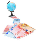 Money and finance. Finance and money, credits and loans Royalty Free Stock Images