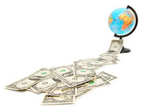 Money and finance. Finance and money, credits and loans Stock Photo