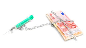 Money and finance. Royalty Free Stock Image