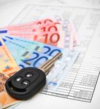 Money and finance. Royalty Free Stock Images