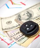 Money and finance. Royalty Free Stock Photos