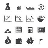 Money and finance icon Royalty Free Stock Photography