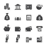 Money and finance icon Royalty Free Stock Photos