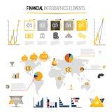 Money finance infographics Stock Photography