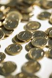 Money, finances. Euro coins Royalty Free Stock Photography