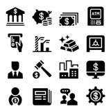 Money & Financial icon set. Money Royalty Free Stock Photos