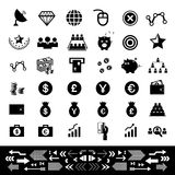 Money and financial icon set. Money and financial vector icon set Stock Photo
