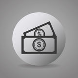 Money and financial market. Graphic design,  illustration Stock Photos