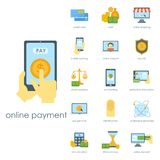 Money finanse banking safety icons business currency card deposit payment vector illustration. Stock Photo