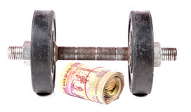 Money and fitness Stock Photos