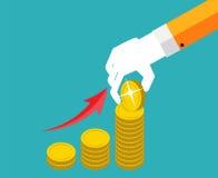 Money Flat Design Concept Vector  Illustration Stock Photos
