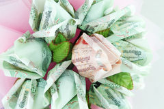 Money flower Royalty Free Stock Photography