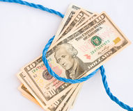 Free Money For Old Rope. Stock Images - 12594084