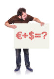 Money formula Stock Image