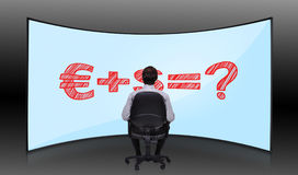 Money formula Stock Images