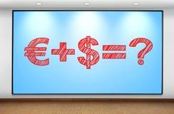 Money formula Royalty Free Stock Photo