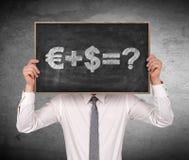 Money formula Stock Images