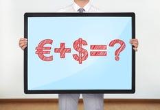 Money formula Royalty Free Stock Photos
