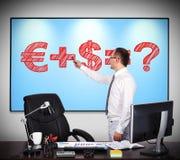 Money formula Stock Photo