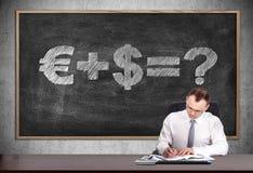 Money formula Royalty Free Stock Images