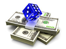 Money Gambling Royalty Free Stock Photography