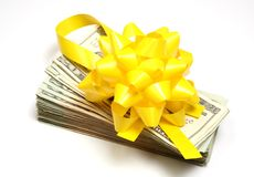 Money gift Royalty Free Stock Photos
