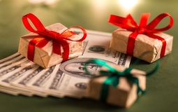 Free Money Gift Stock Images - 34801644