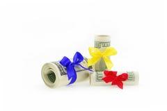 Money gift Stock Photography