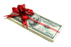 Money for gift Royalty Free Stock Photo