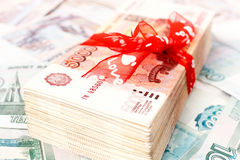 Money gift Stock Images