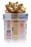 Money gift box Stock Image